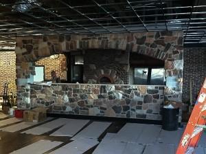 Lucky's Pub Interior Construction in Progress